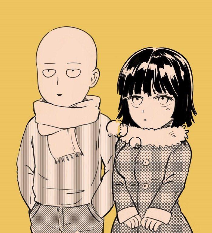 Ванпанчмен Сайтама и Фубуки любовь, фотки 15