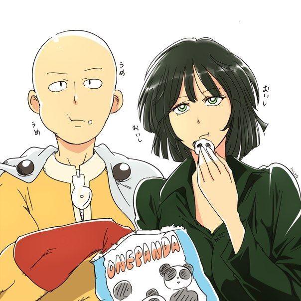 Ванпанчмен Сайтама и Фубуки любовь, фотки 17