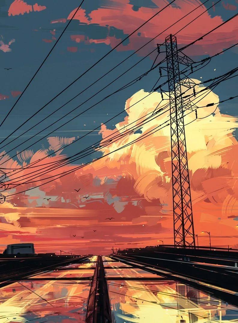 Аниме обои эстетика вертикальные картинки 13