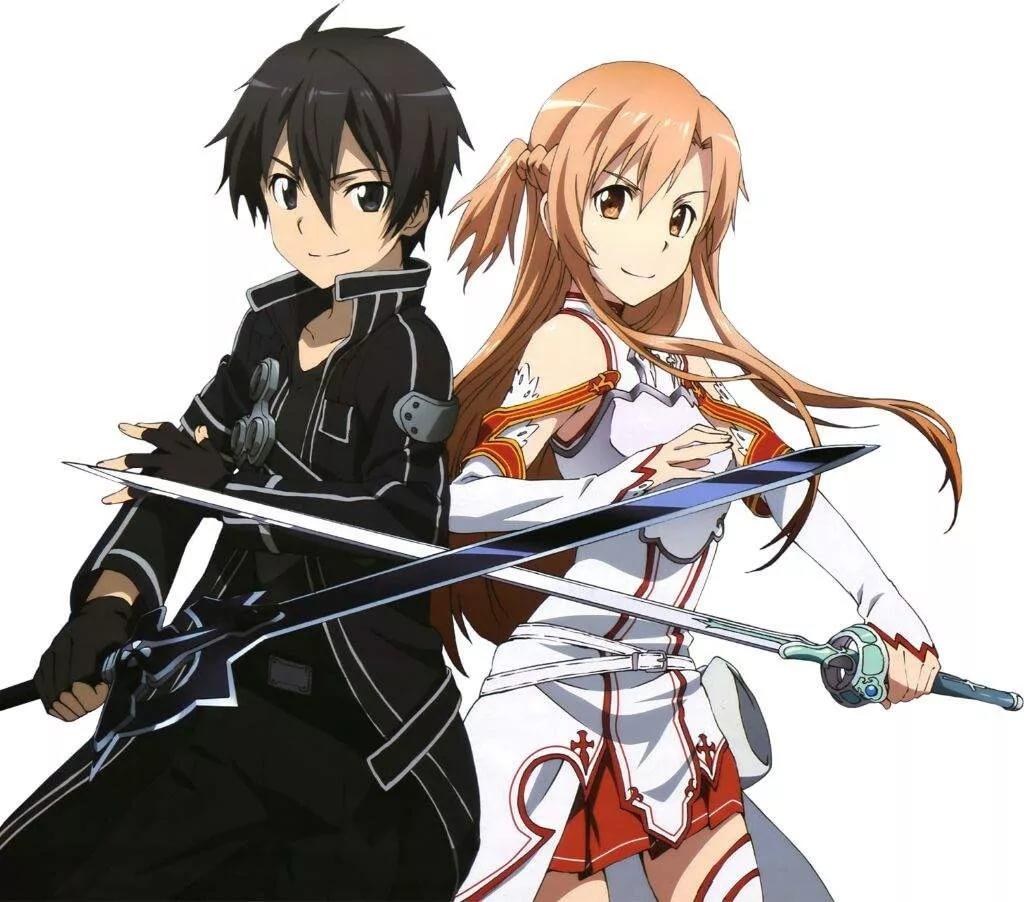 Арты мастера меча онлайн Асуна и Кирито 6