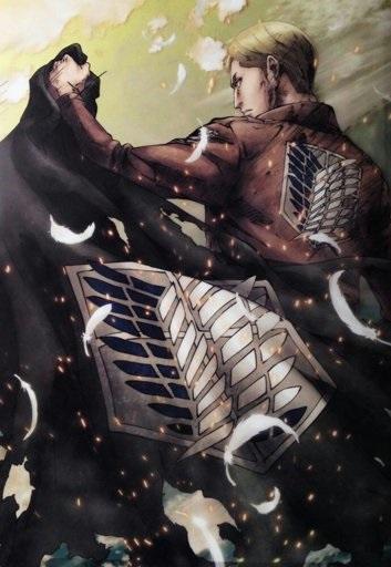 Эрвин Смит Атака титанов, красивые арты (20 фото) 18