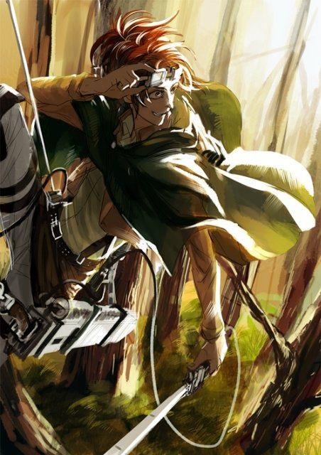 Красивые картинки Ханджи с Атака титанов (24 фото) 07