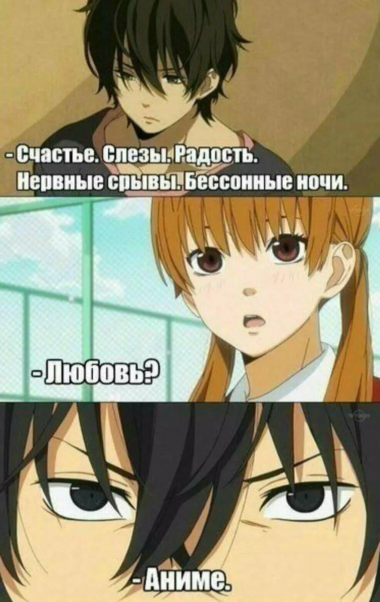 Угарные аниме мемы на русском про школу 12