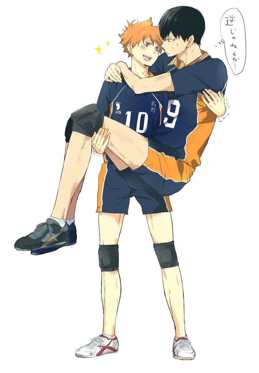 Волейбол аниме обои на телефон хината 6