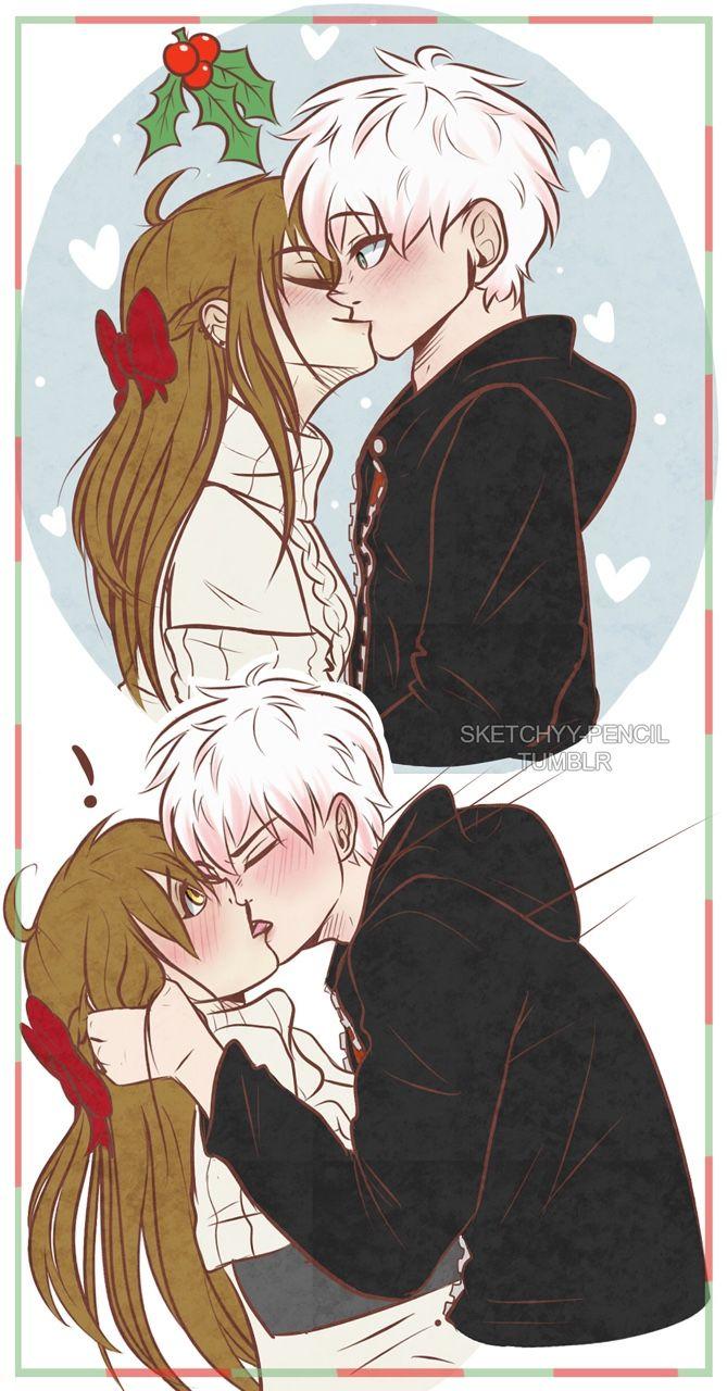 Аниме страсть поцелуи, нежные и страстные 12