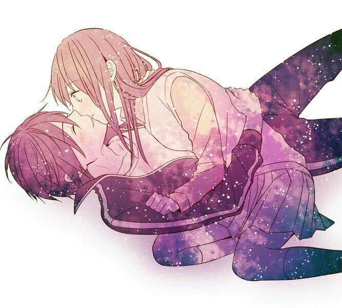Аниме страсть поцелуи, нежные и страстные 24