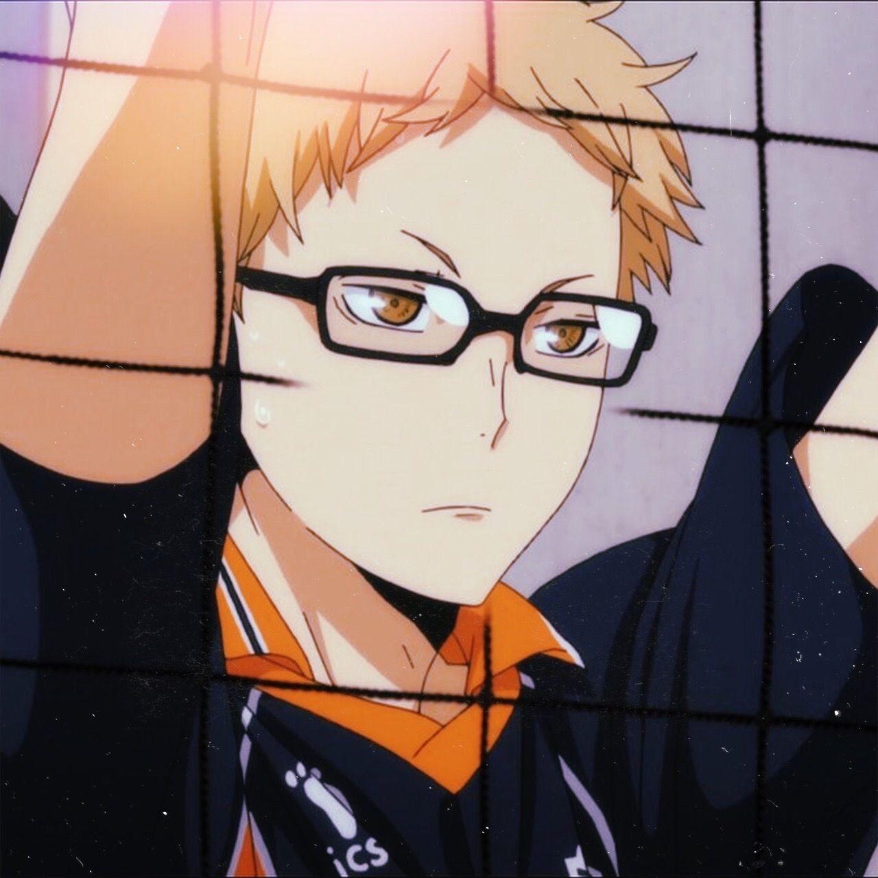 Аниме волейбол Цукишима, картинки 18