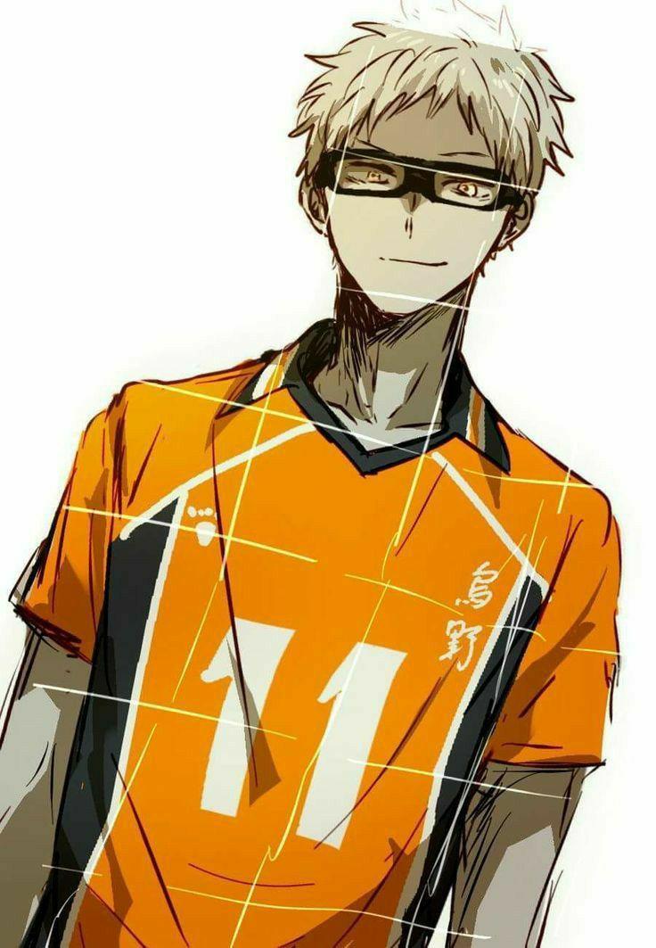 Аниме волейбол Цукишима, картинки 30
