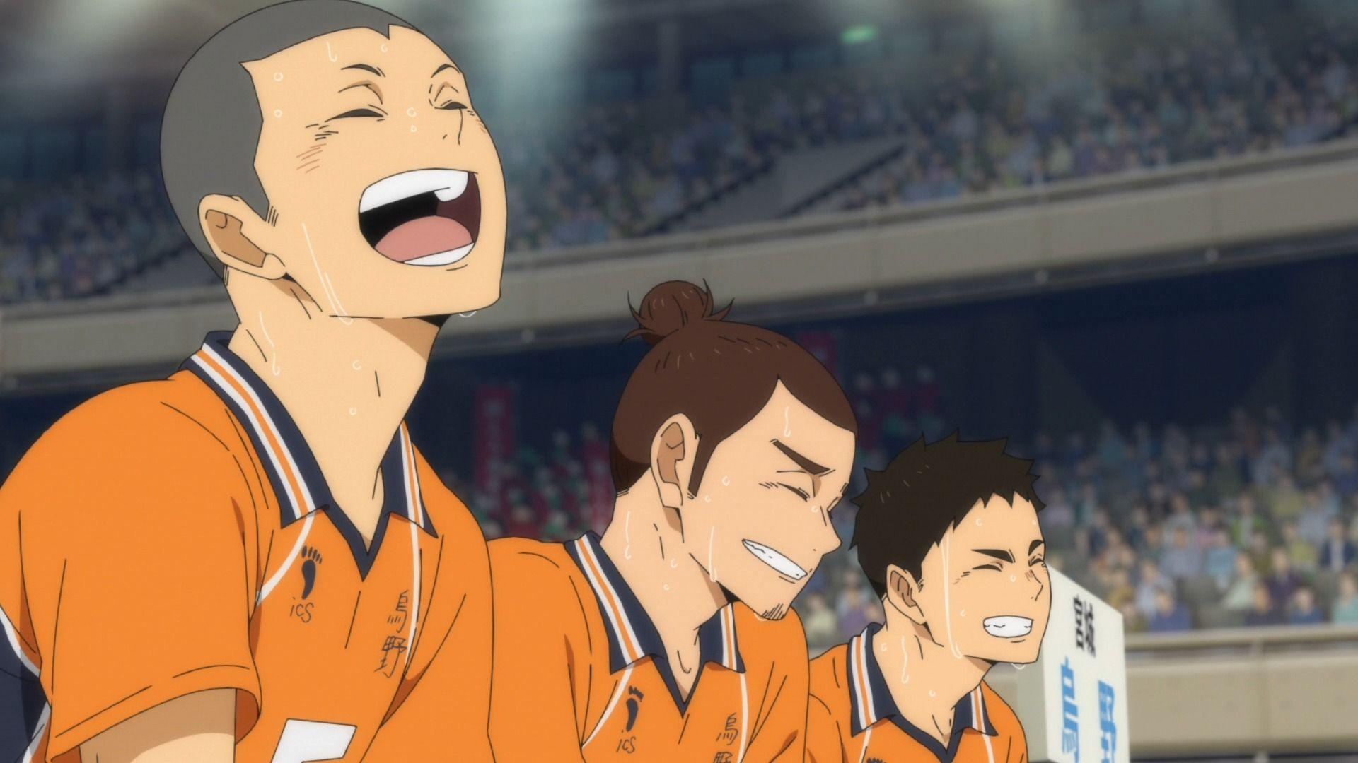Аниме волейбол Танака, прикольные картинки 14