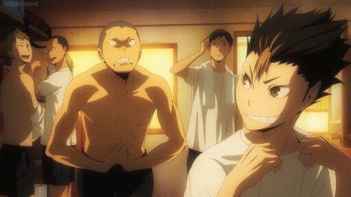 Аниме волейбол Танака, прикольные картинки 34