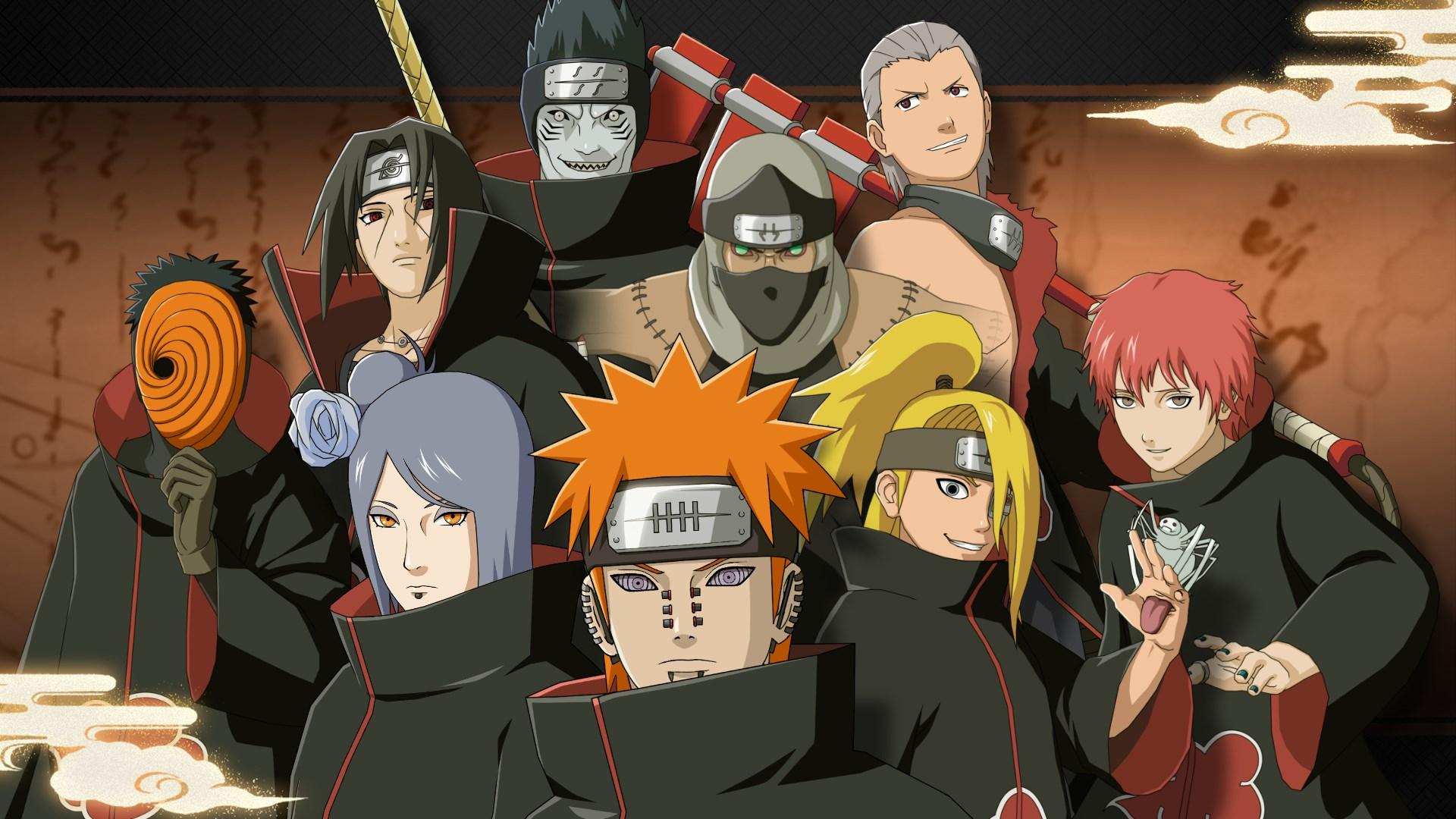Члены Акацуки