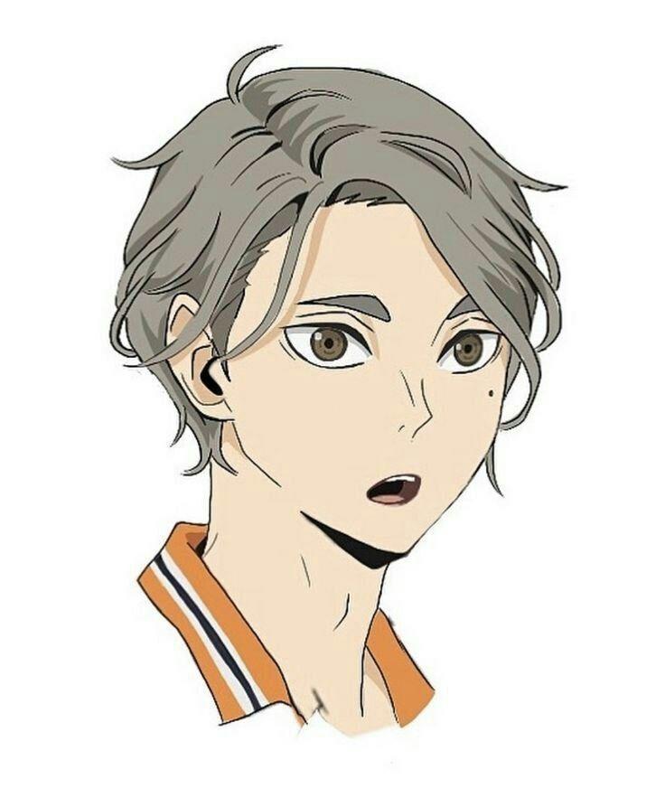 Картинки волейбол аниме Сугавара, арт 4