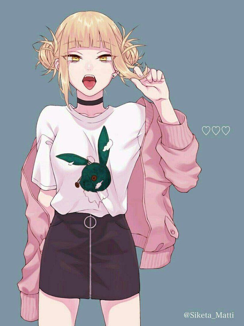 Красивая арт девушка аниме   яркие картинки 05