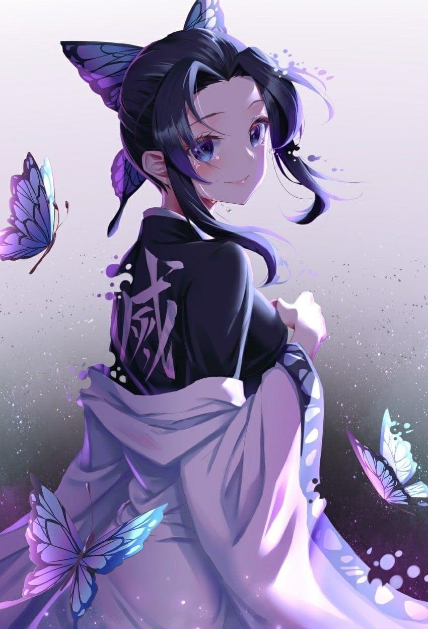 Красивые аниме арты тян демон 07