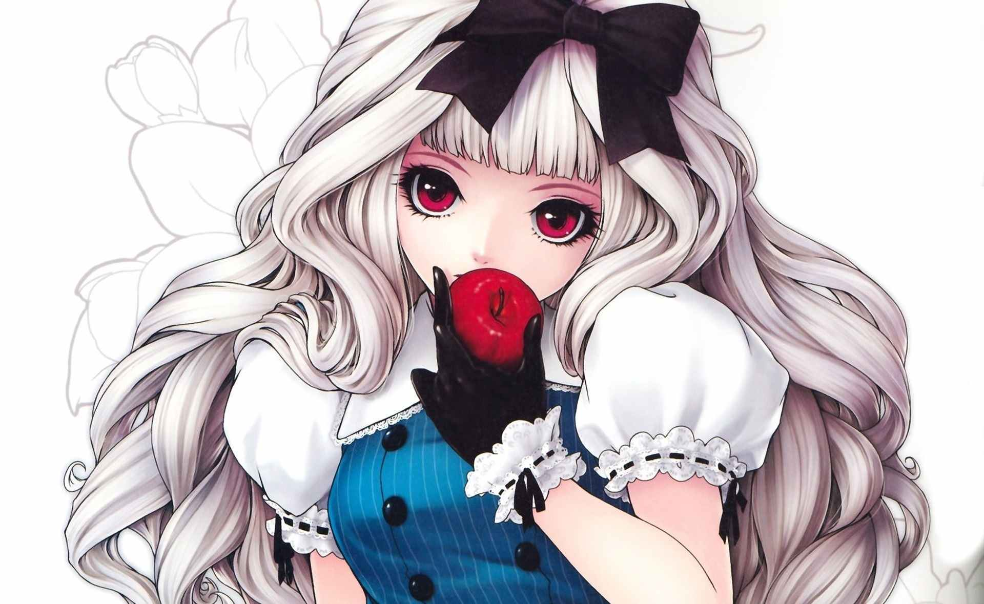 Красивые аниме картинки на аву для девушек 05