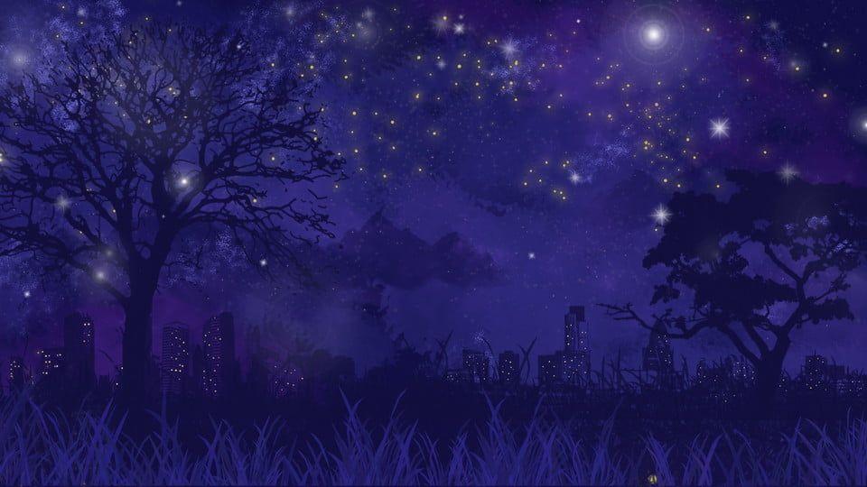 Красивый аниме фон лес 13
