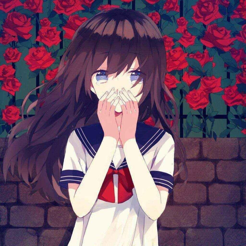 Крутые черные картинки аниме на аву 04