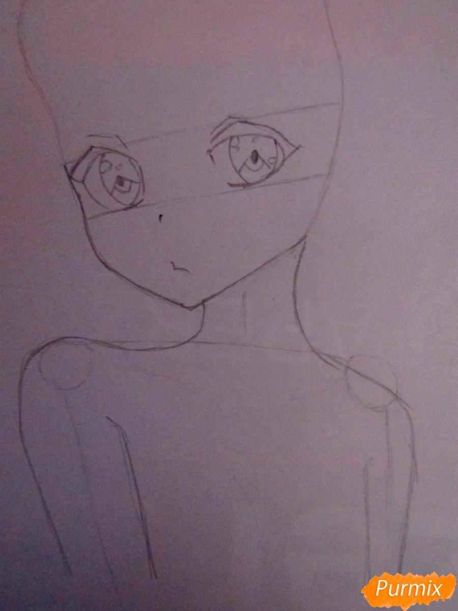 Крутые картинки для срисовки демоны аниме 10