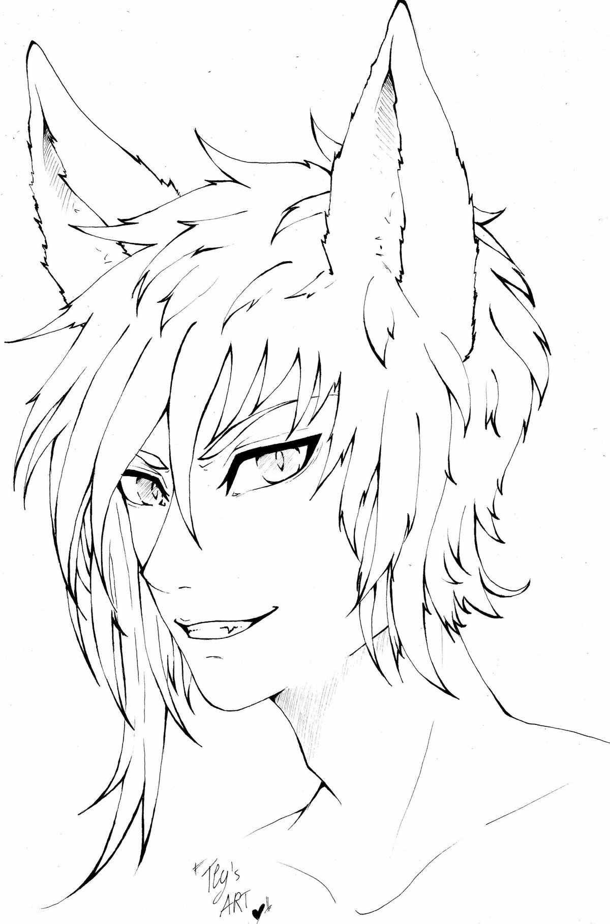 Крутые картинки для срисовки демоны аниме 17