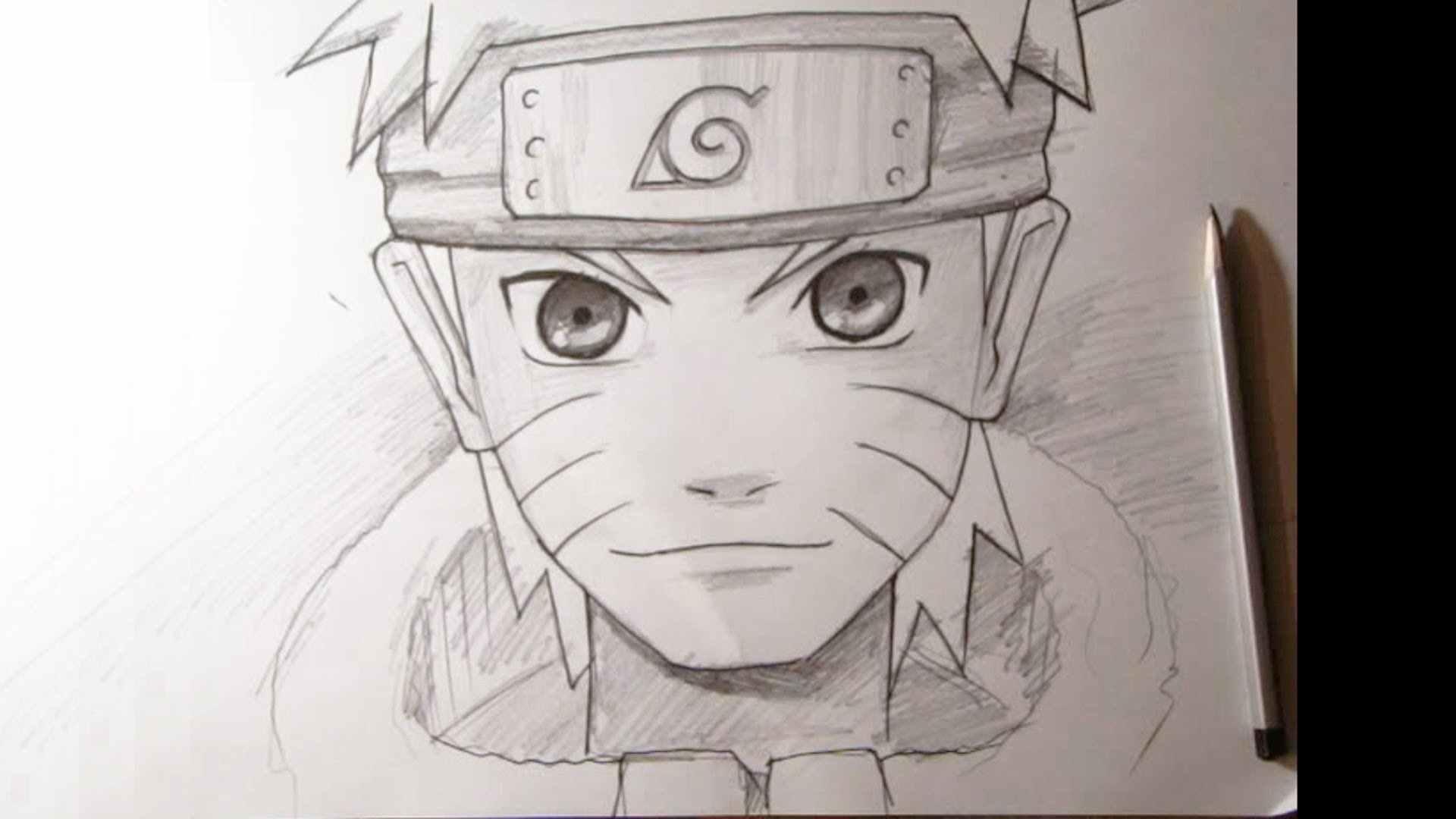Легкие картинки для срисовки в стиле аниме 02