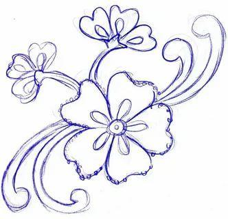 Легкие рисунки каракули для срисовки 37