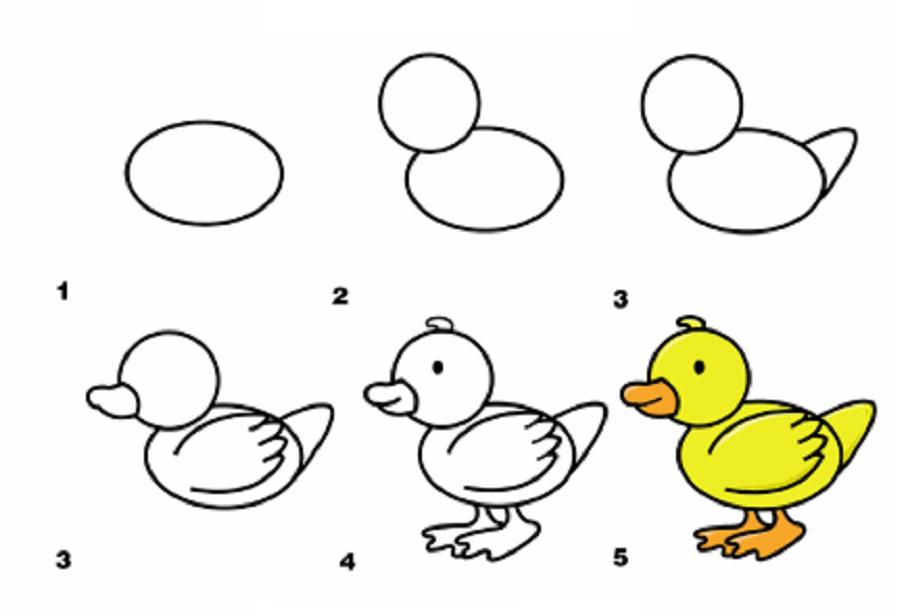 Легкие рисунки каракули для срисовки 43