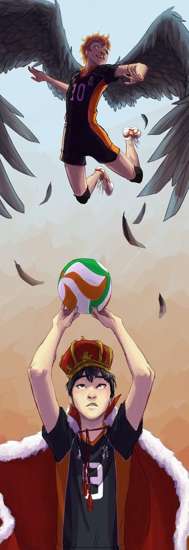 Лучшее аниме волейбол Хината арт и картинки 05