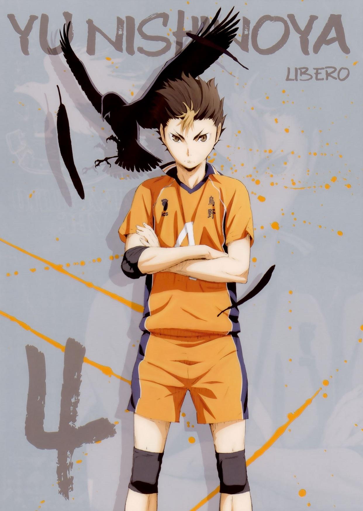 Лучшие арты из аниме волейбол 11