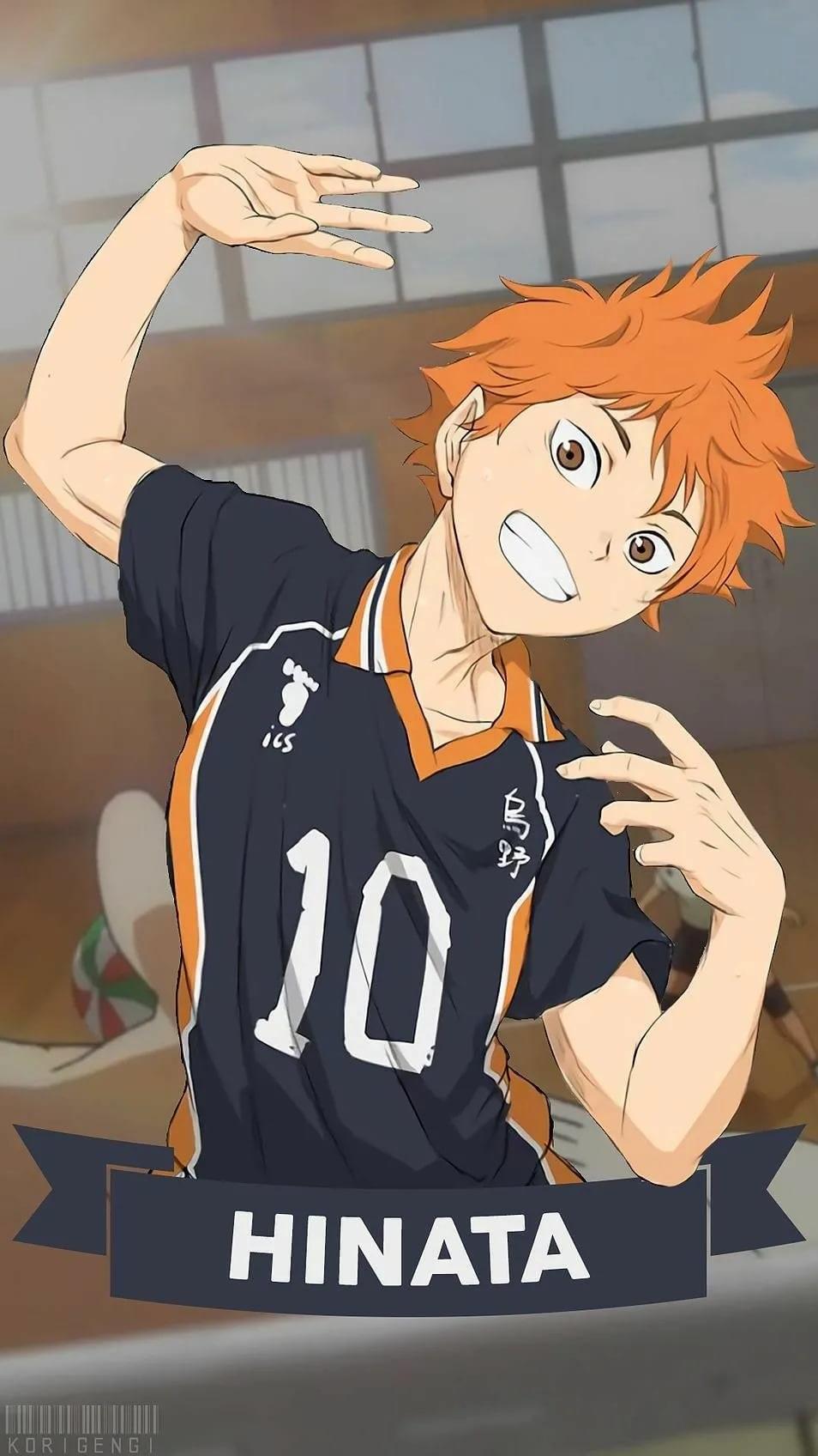 Лучшие арты из аниме волейбол 12
