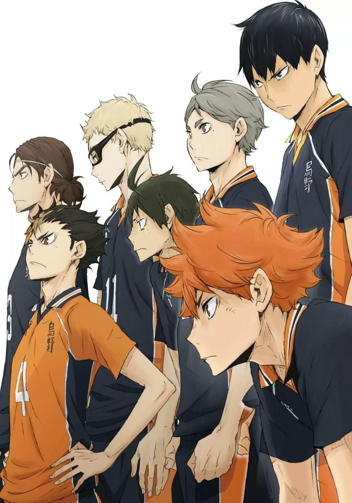 Лучшие арты из аниме волейбол 13