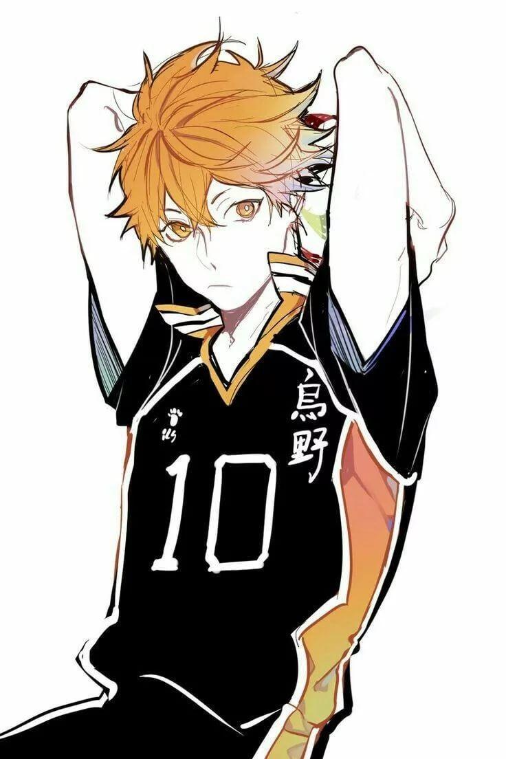 Лучшие арты из аниме волейбол 14