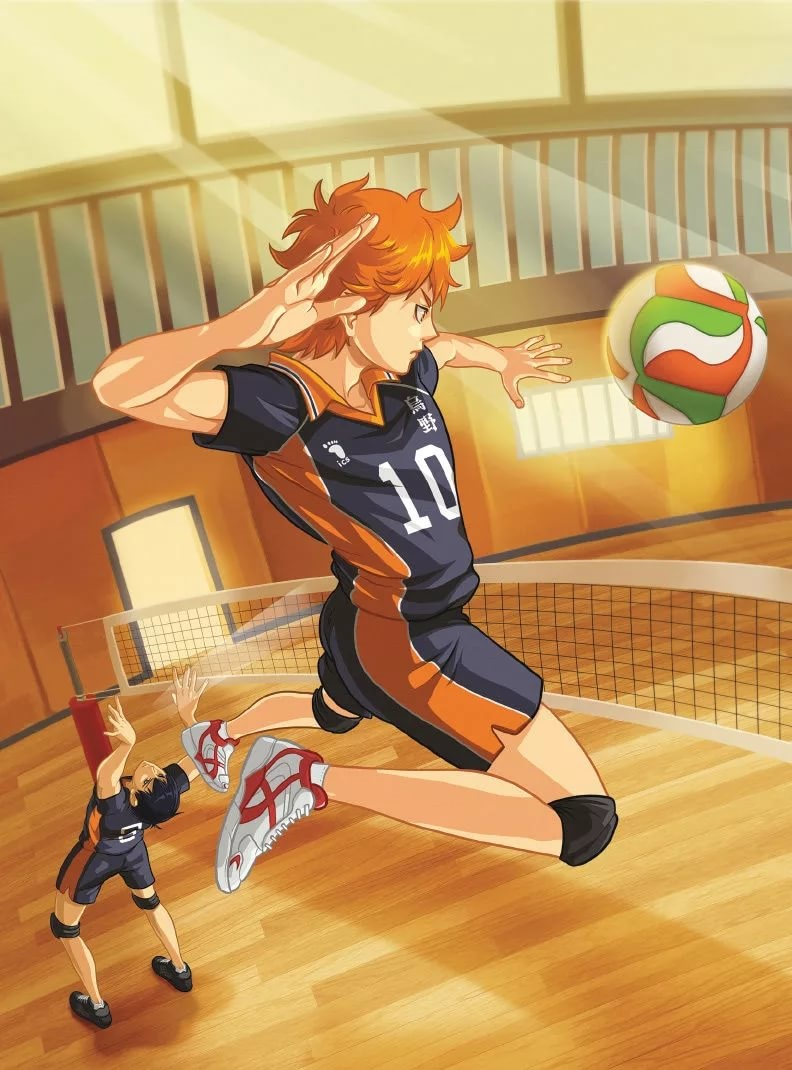 Лучшие арты из аниме волейбол 20