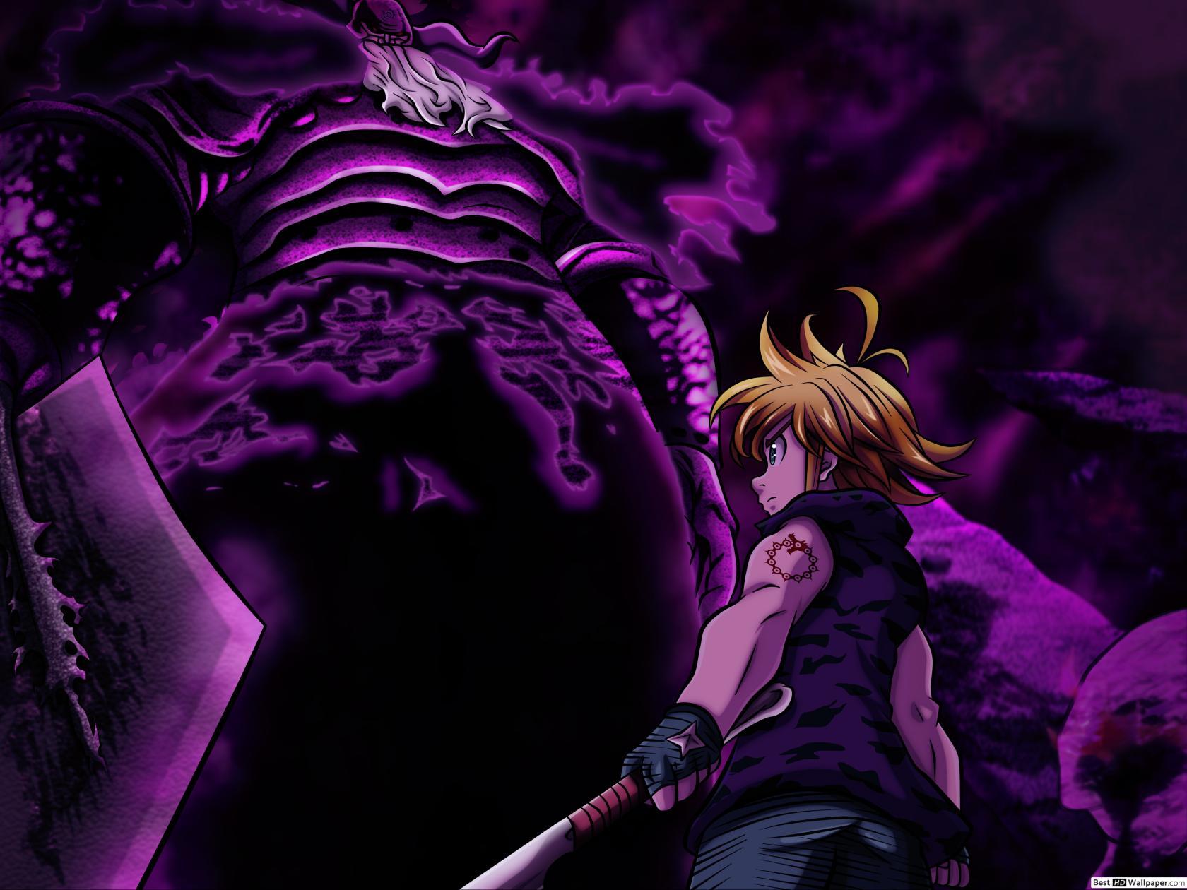 Мэлиодас и его отец король демонов