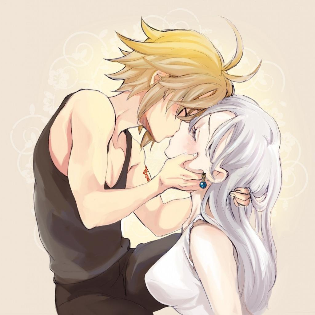 Мелиодас целует Элизабет