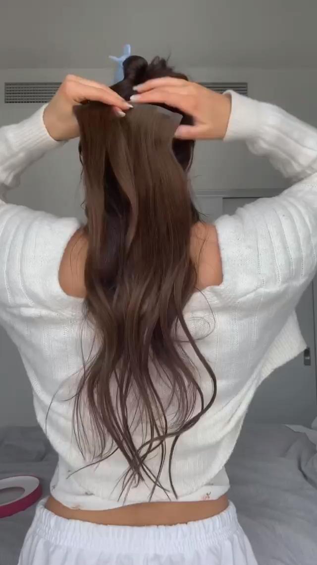 Милые аниме девушки с коричневыми волосами 12