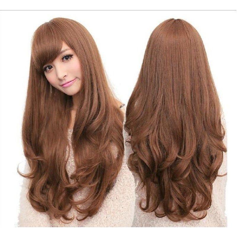 Милые аниме девушки с коричневыми волосами 13