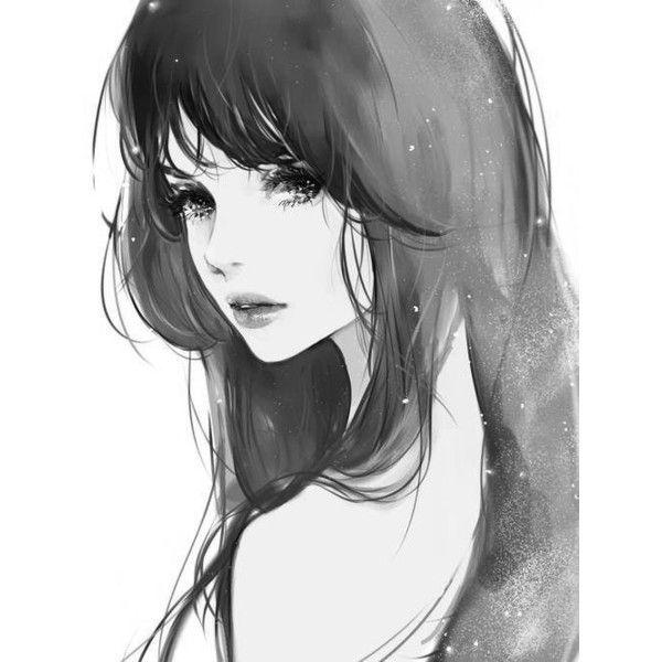 Милые аниме девушки с коричневыми волосами 14