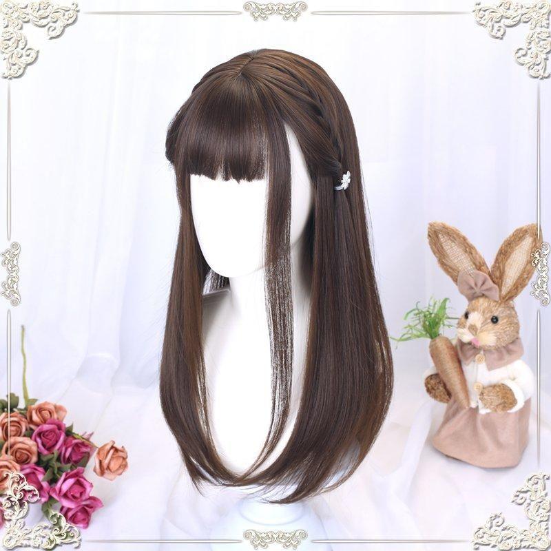Милые аниме девушки с коричневыми волосами 36
