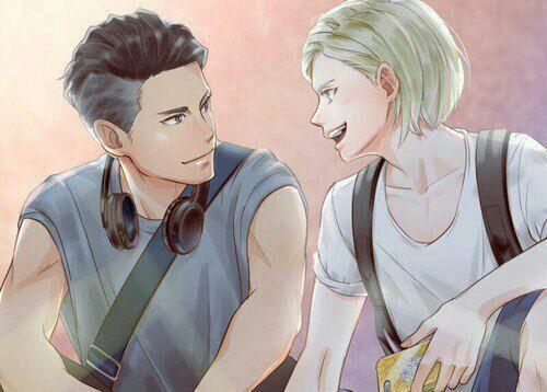 Нежные аниме Юри поцелуи, картинки 10