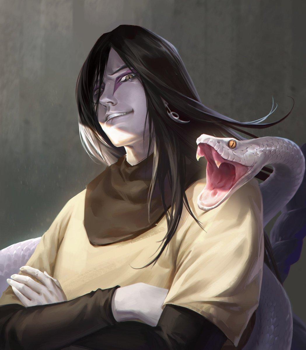 Орочимару и его змея