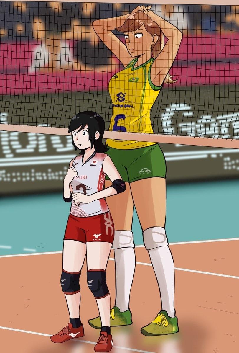 Прикольные аниме мемы волейбол 07