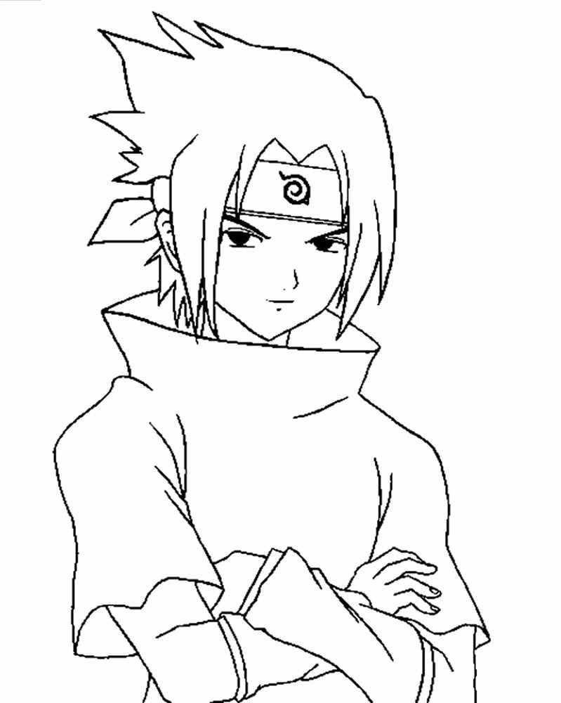 Прикольные картинки для срисовки аниме наруто 16