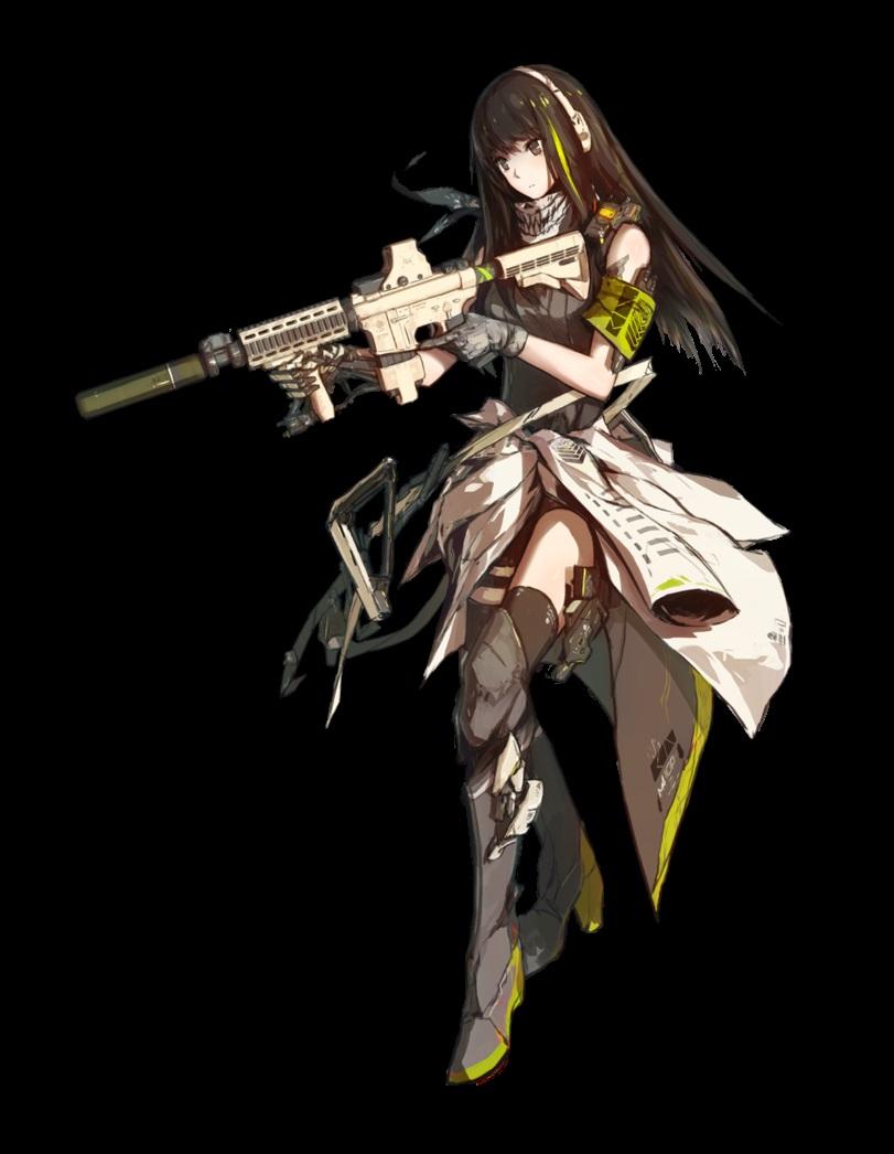 Скачать аниме арты тян с оружием девушки 17