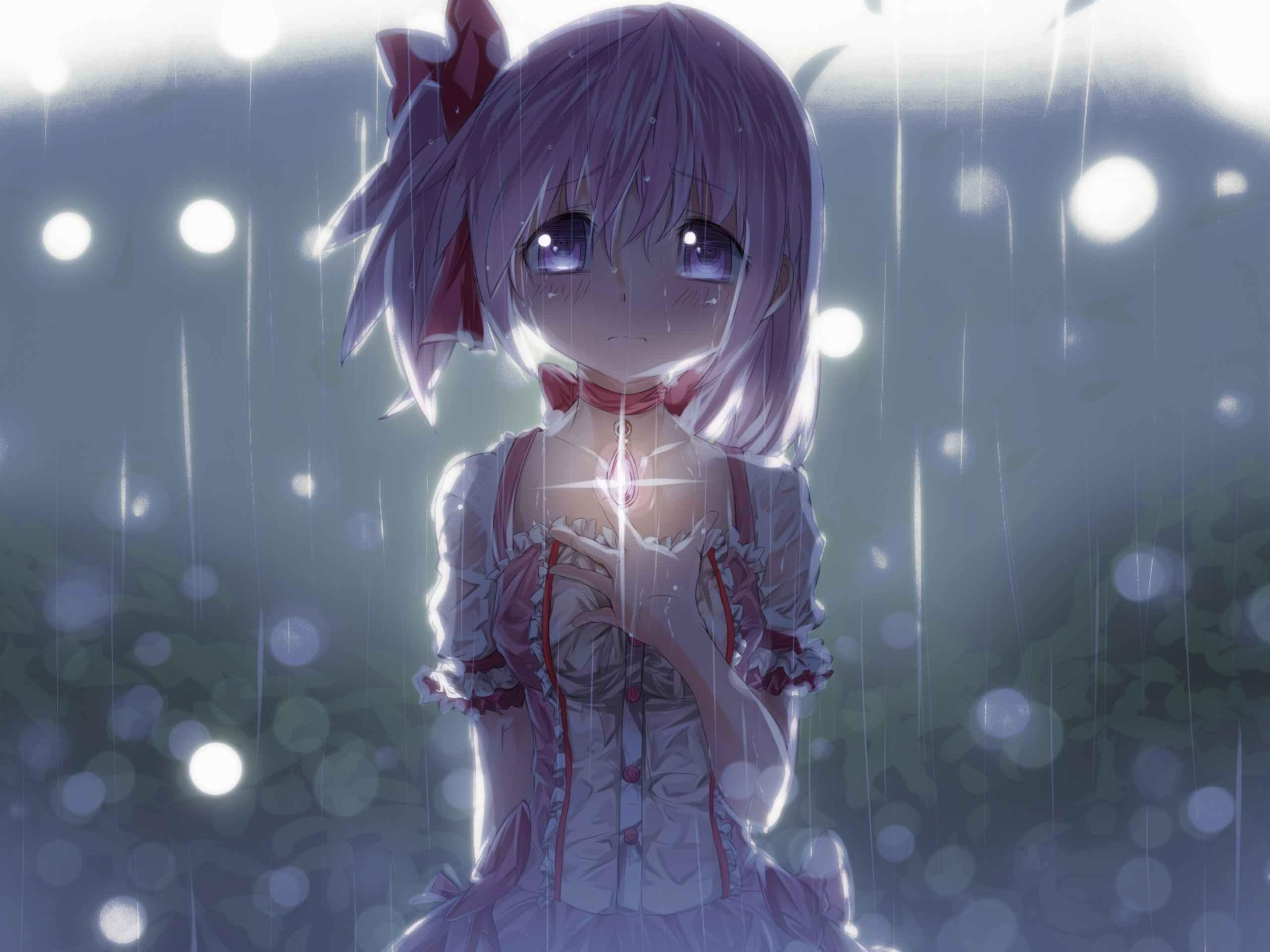 Скачать грустные аниме картинки на аву 01