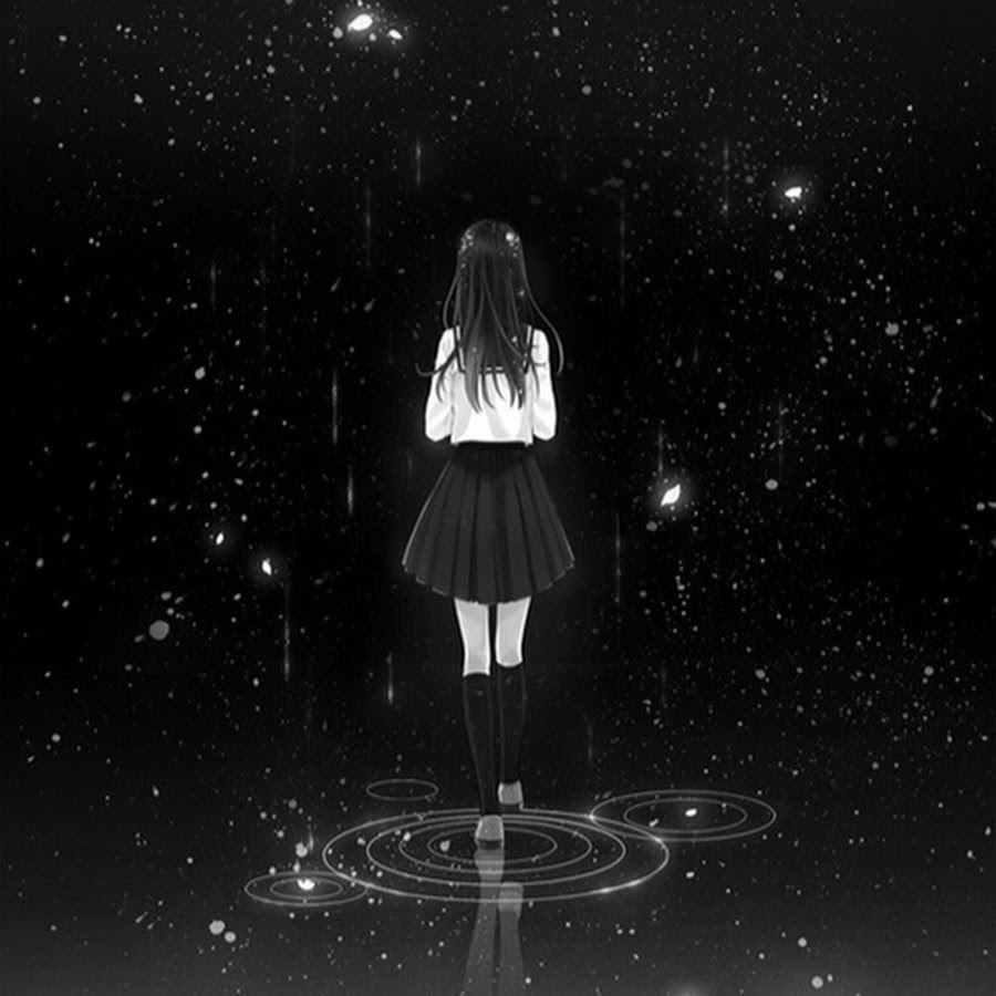 Скачать грустные аниме картинки на аву 02