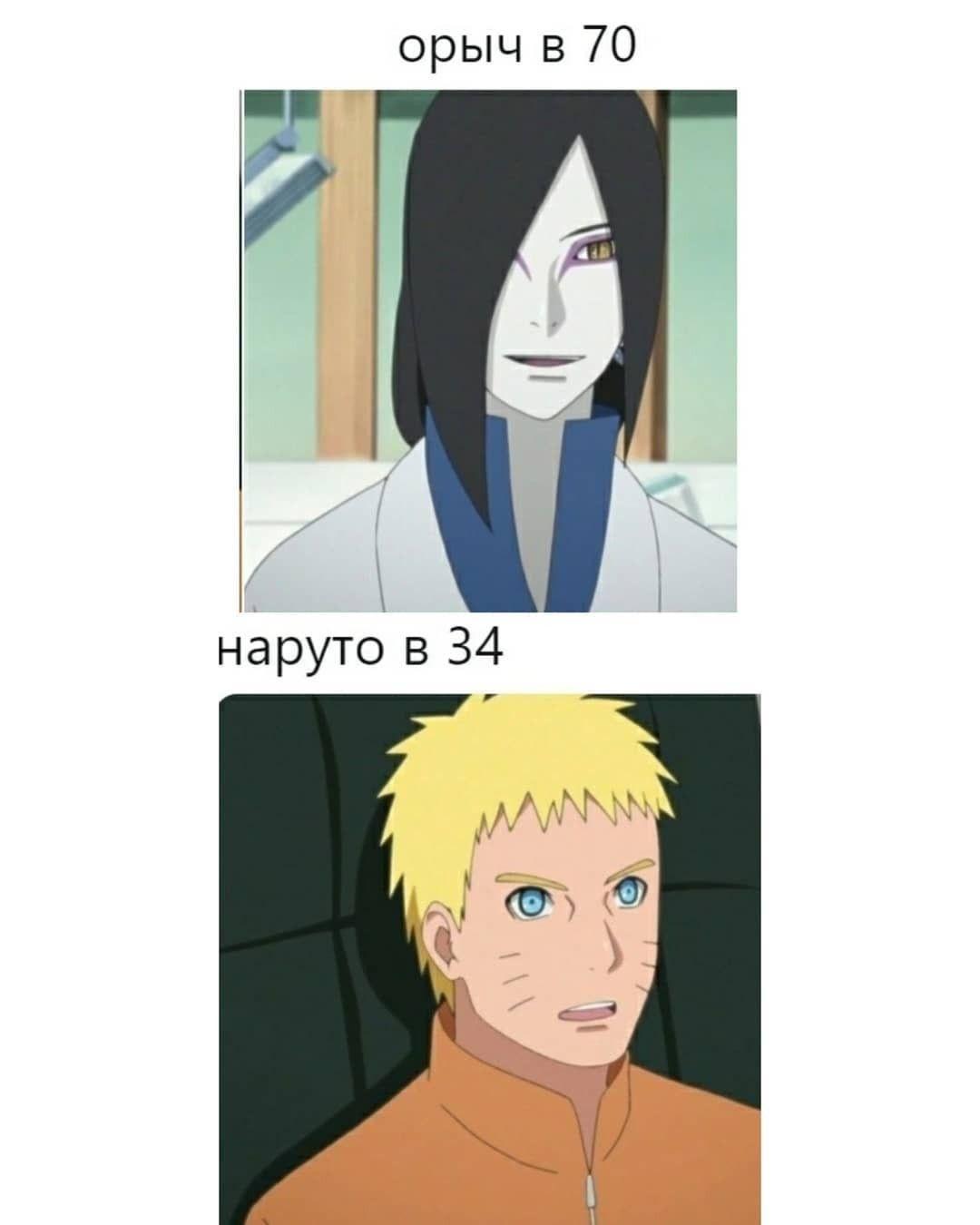 Угарные аниме мемы Наруто 2021 01