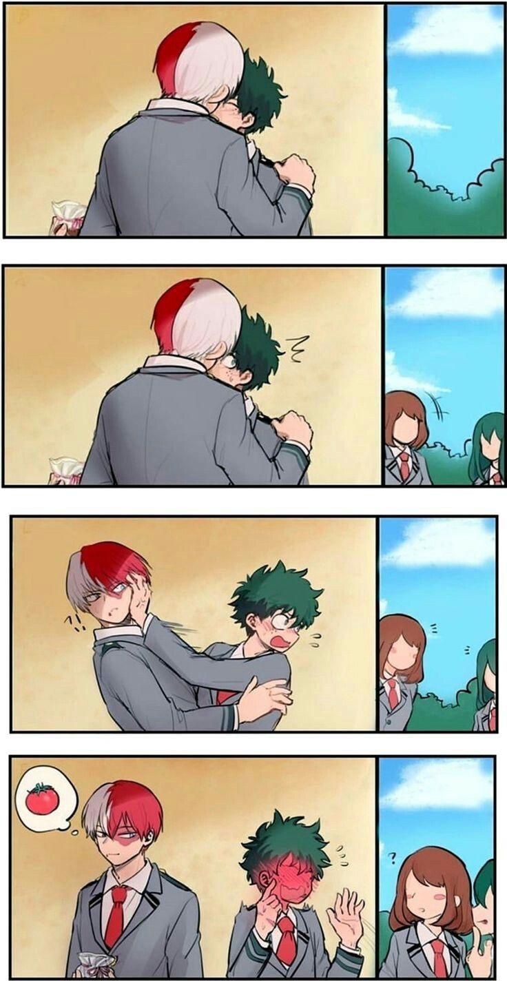Угарные мемы с аниме моя геройская академия 05
