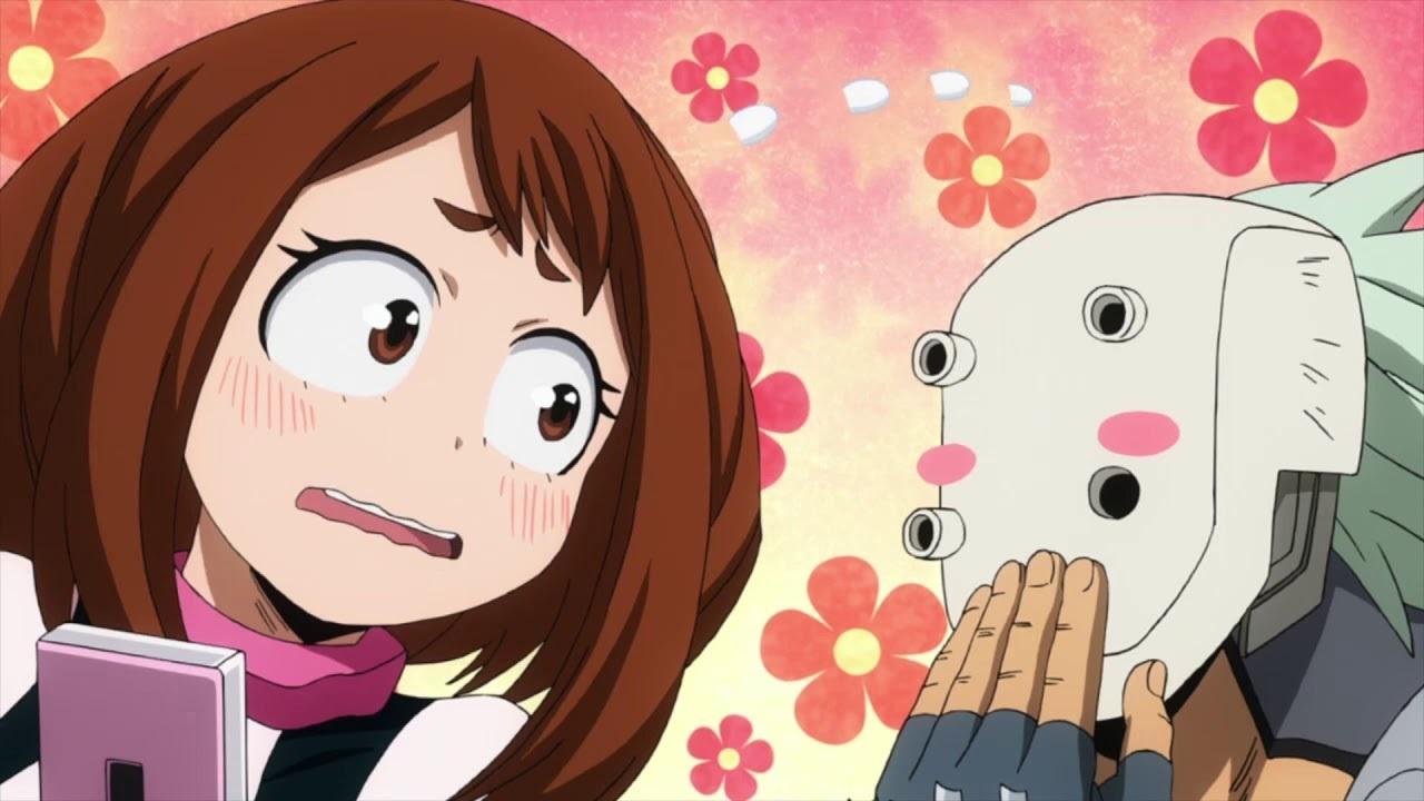 Угарные мемы с аниме моя геройская академия 12