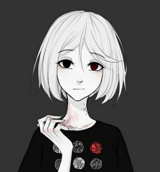 Яркие аниме девушки с короткими волосами 23