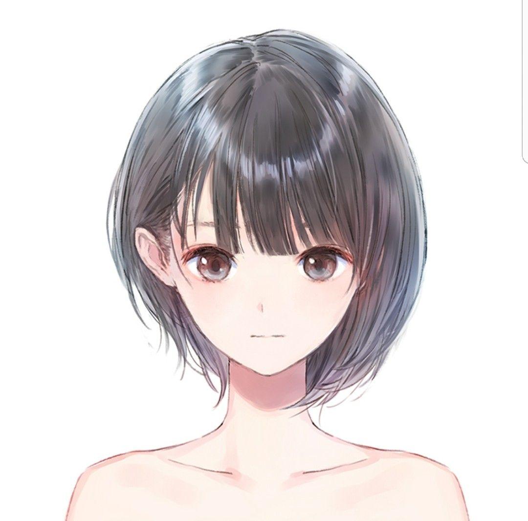 Яркие аниме девушки с короткими волосами 25